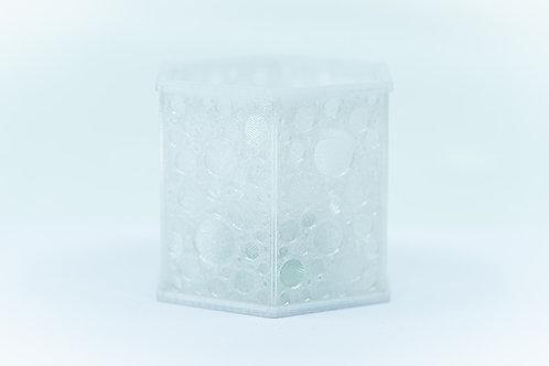 Winterlaterne Eis