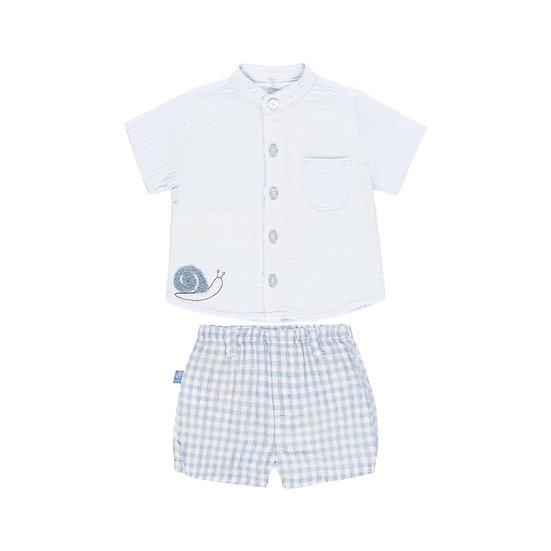 Boboli Completo Camicia&Pantaloncino 102160-9479