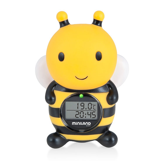 Miniland Termometro Acqua e Ambiente Thermo Bath 89061