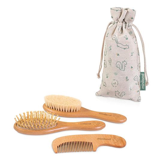 Miniland Set Spazzola e Pettine Baby Haircare Chip 89338