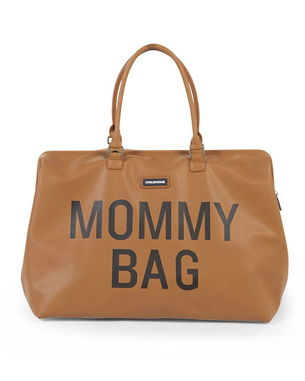 Childhome Mommy Bag Borsa Cambio Leatherlook Brown
