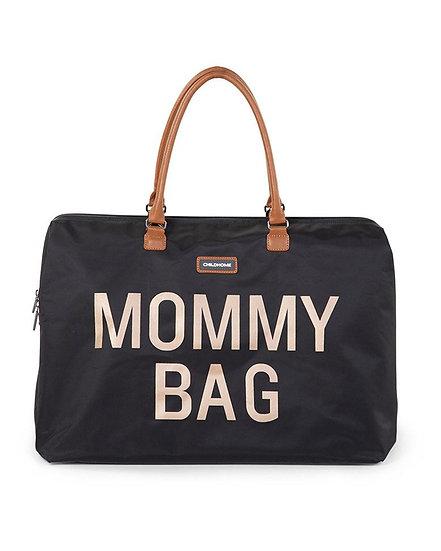 Childhome Mommy Bag Borsa Cambio Black&Gold