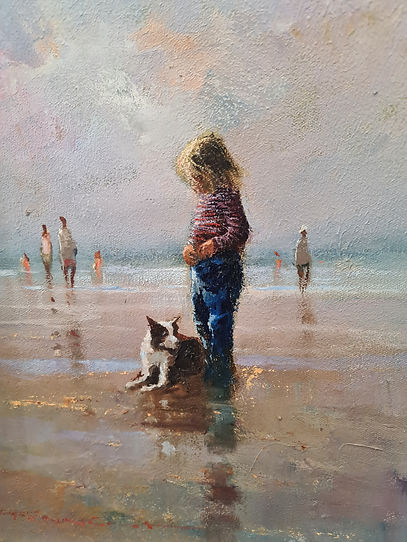 Peter Fennell _ A Day At The Beach