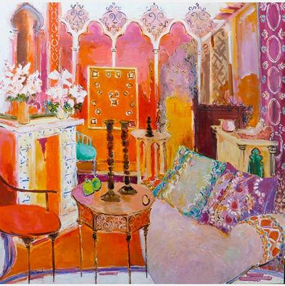 Eva Hannah | Moroccan Interior | 106x106
