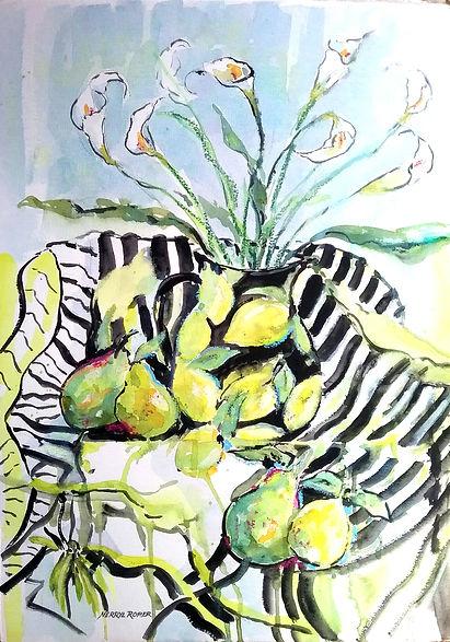 Nerryl Roper Still Life Lemons