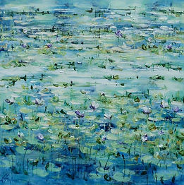 Jan Stapelton | Billabong Lilies in the