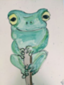 Rachel Carroll | Frog Henry | 29 x 42.jp
