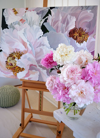 Chinoiserie with peonies - Jenny Fusca.J