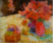 Eva Hannah | From my Garden | 73x60.jpg