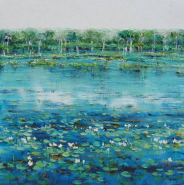 Jan Stapleton | Lotus Bird Lagoon I | 10