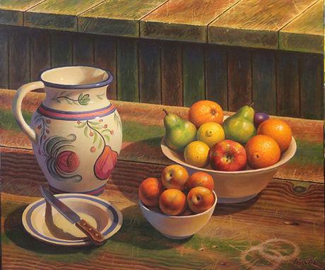 Ernesto Arrisueno | Tutti Frutti | 87 x