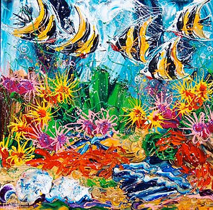 Velia Newman | Love On The Reef .jpg