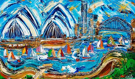 Velia Newman | Sydney from Kiribilli .jp