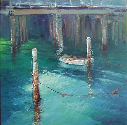 Ted Lewis | Peaceful Waters | 60x60.jpg