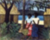 Ray Crooke | Fijian Village.jpg