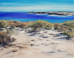 Jan Stapleton Blue Sea and Sandstone