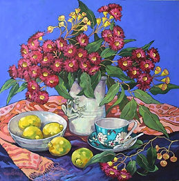 Mignon Parker | Gum Blossoms | 60x60 .jp