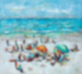 Wendy Wooden | Weekend in Noosa | 80x80.
