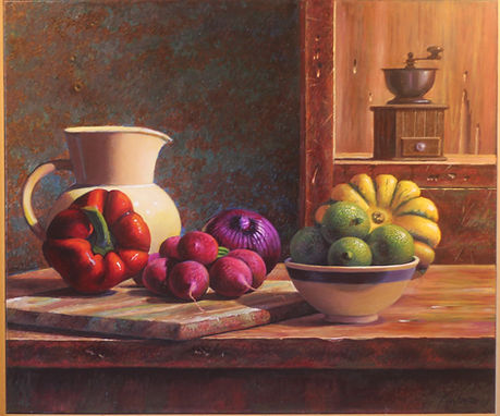 Ernesto Arrisueno | Kitchen Table | 76 x