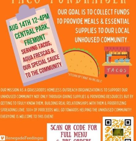 Renegade Feedings Taco Fundraiser!