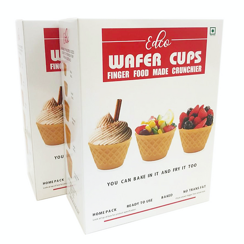 Small wafer cup retail packs