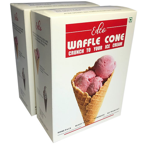 Waffle cone retail pack