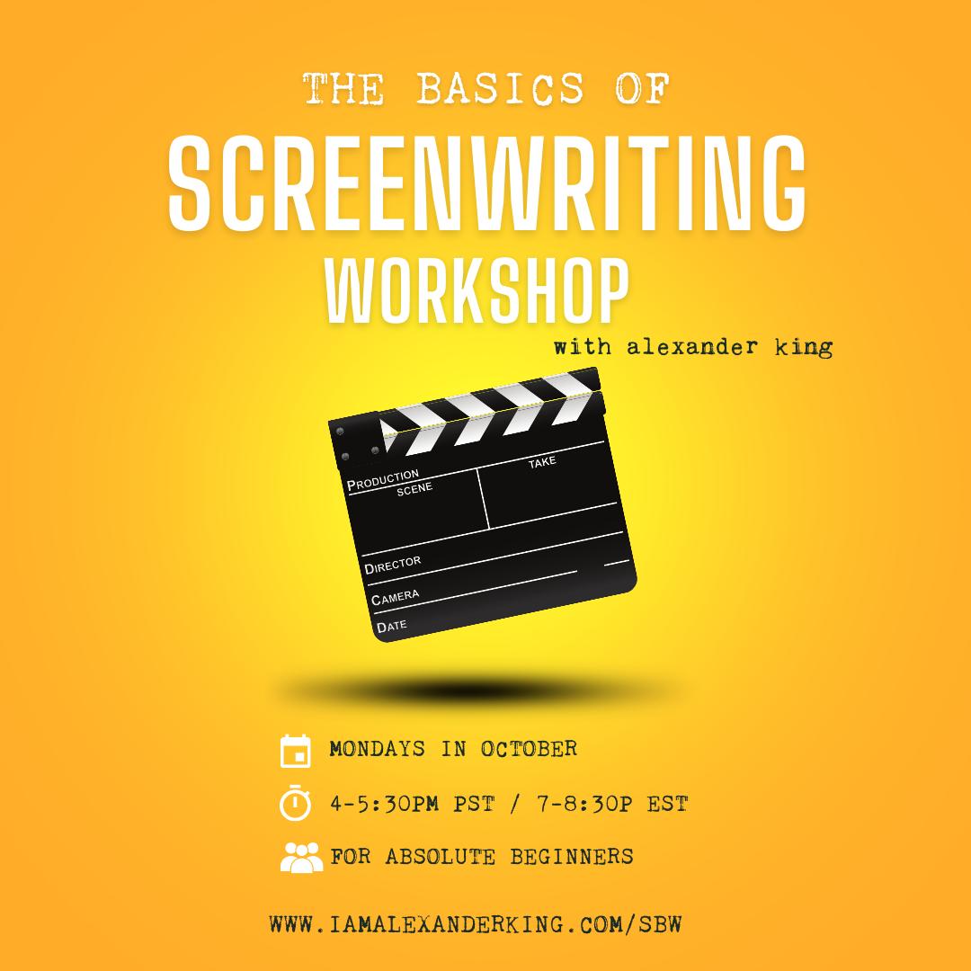 The Basics of Screenwriting