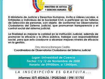 ¿EJECUTIVO FISCALIZARÁ A FUNCIÓN JUDICIAL?