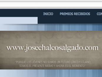 Nueva web: www.josechalcosalgado.com