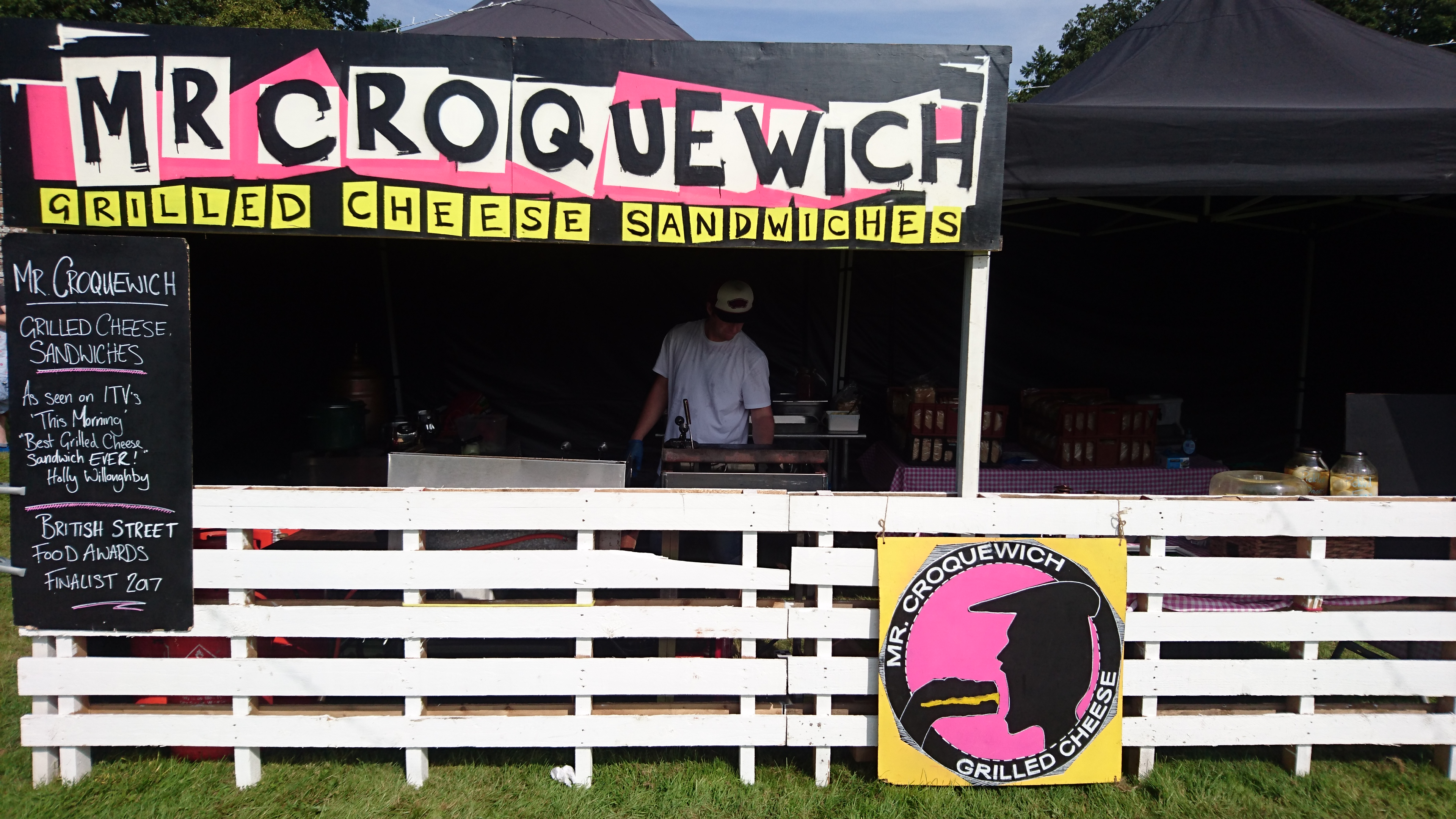 Mr Croquewich wedding catering