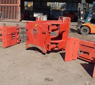Used Bale Clamps & Paper Rolls