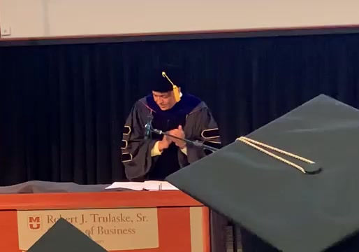 Kerry Goyette Missouri University 2019 MBA Commencement Speech