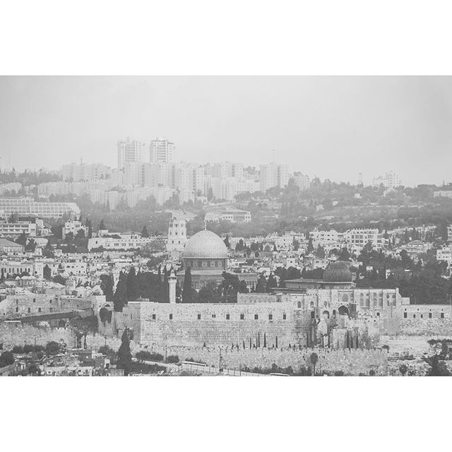 Oh, Jerusalem.  Ancient and timeless
