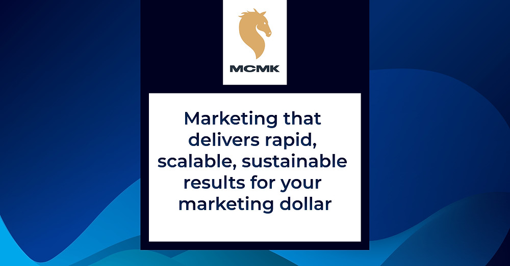 Marketing that delivers rapid, scalable, sustainable results for your marketing dollar