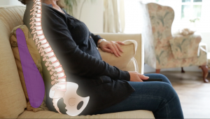 Avoiding back pain from sofa Dr. Elaine Screaton NW Calgary Chiropractor