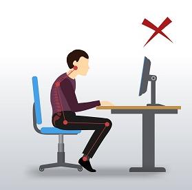 Poor Computer Posture NW Calgary Chiropractor
