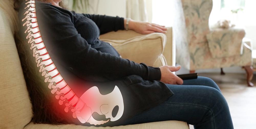 Sofa causing low back pain Dr. Elaine Screaton NW Calgary Chiropractor