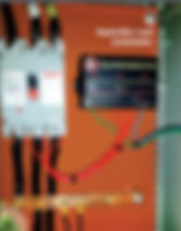 Retentor Eletromagnético instalado