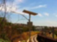 9 postes solares instalados em ferrovia para a VLI em MG