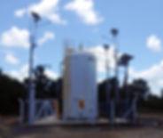 5 postes solares instalados para PetroRecôncavo em Mata de São João, Bahia