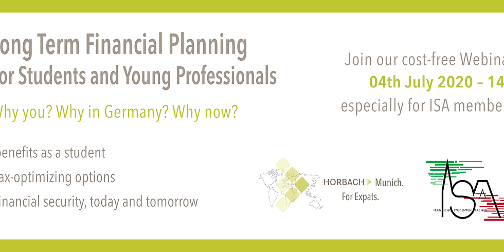 Long Term Financial Planning for ISA Members