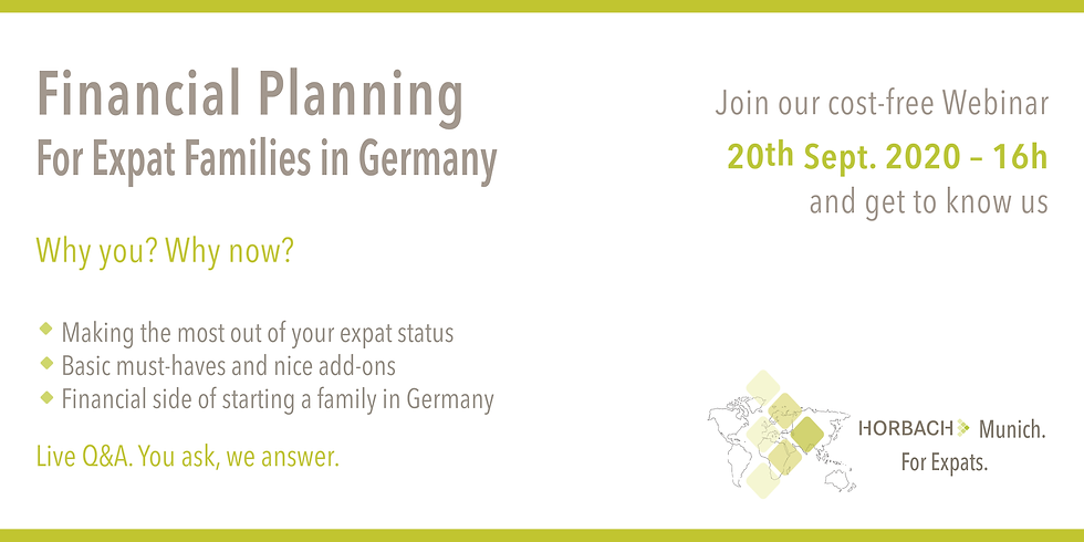 Financial Planning for Expat Families in Germany