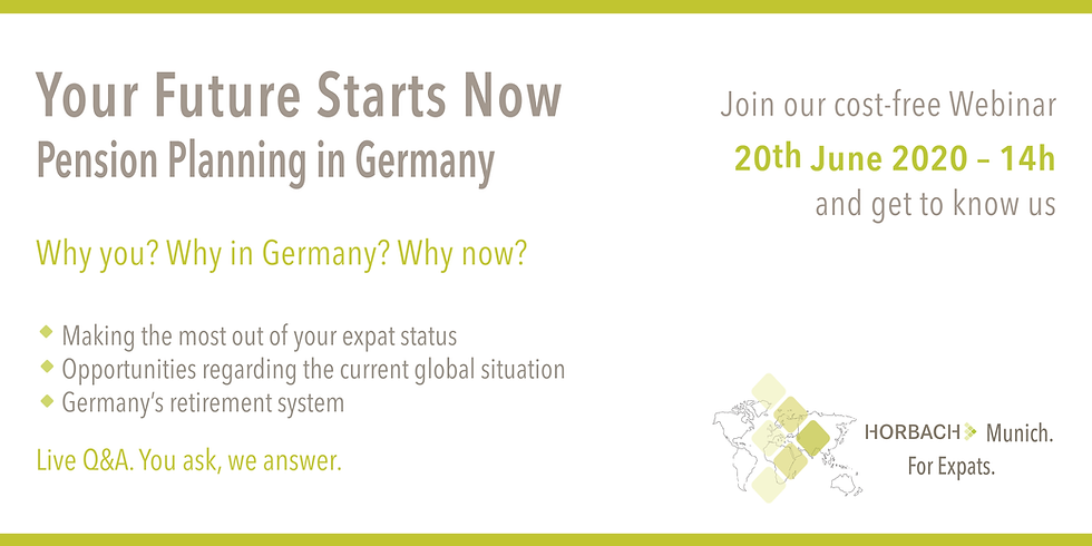 Your Future Starts Now: Pension Planning in Germany