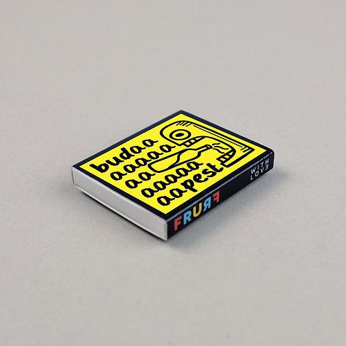 fridge magnet safety match (drinking)