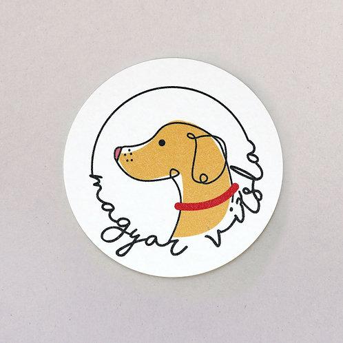 coaster (Hungarian dog breed - magyar vizsla)