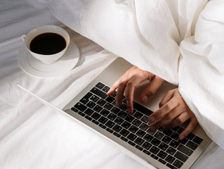 I Used To Work From Home–Now I Work From Bed