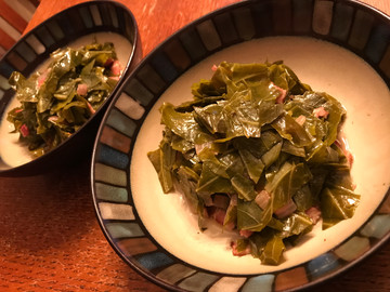 Collard Greens with Pot Liquor