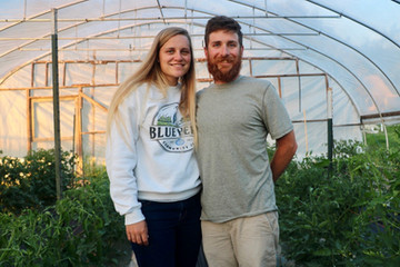 Owner Spotlight: Alex Young and Lindsey Stoner of Blue Heron Community Farm