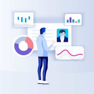 Recruit visual style
