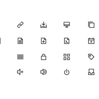 Unicons icon design